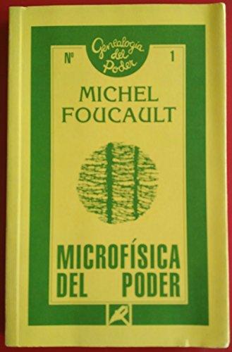 9788477311027: Microfísica del poder (Genealogía del poder (Ediciones de la Piqueta))
