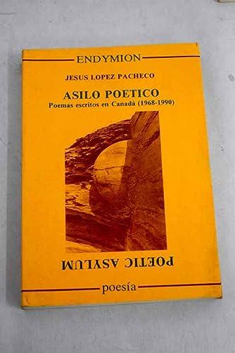 9788477311256: Asilo poético (Poesía)