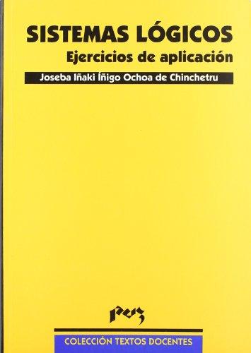 9788477334590: Sistemas lógicos. Ejercicios de aplicación (Textos Docentes)