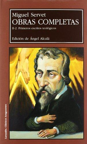 9788477337089: Obras completas. II.1 Primeros escritos teológicos (2 vols.) (Larumbe)
