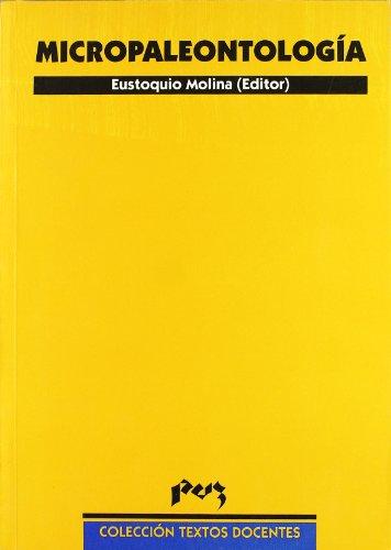 MICROPALEONTOLOGIA: MOLINA, E., ED.