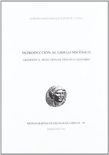 9788477338550: Introducción al griego micénico