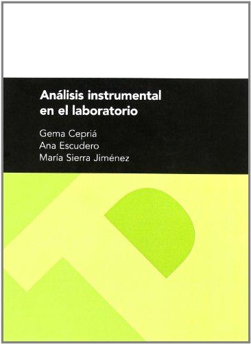 9788477339458: Análisis instrumental en el laboratorio