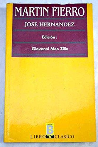 9788477353089: Martin Fierro (Libro clasico) (Spanish Edition)
