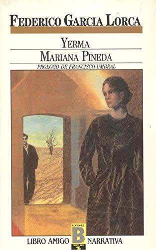 9788477354307: Yerma. Mariana Pineda