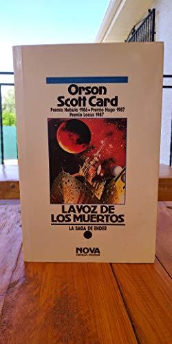 9788477357841: VOZ DE LOS MUERTOS, LA: Nº 1 (ENDER) (NOVA)