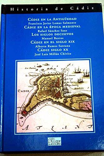 9788477371540: Historia de Cadiz / Francisco Javier Lomas Salmonte ... [Et Al.] (Spanish Edition)