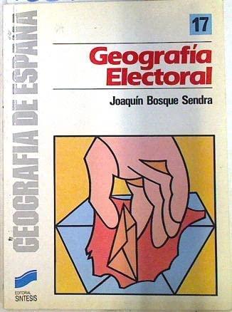 Geografía electoral: Bosque Sendra, Joaquín