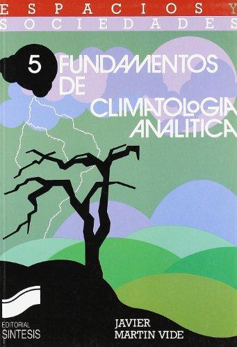 9788477381136: Fundamentos de climatología analítica (Espacios y sociedades)