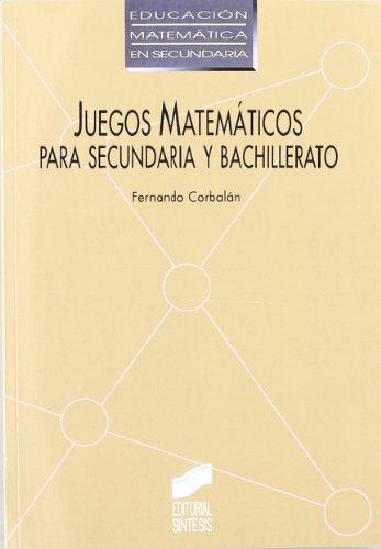 9788477382317 Juegos Matematicos Secundaria Y Bachillerato