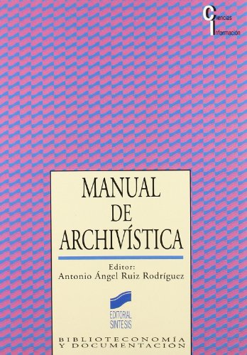 Manual de Archivística
