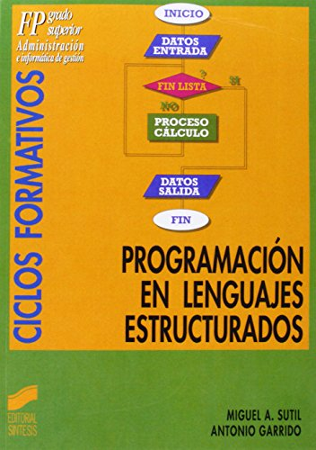 9788477383352: Programación de lenguajes estructurados: [FP, grado superior : administración e informática de gestión]