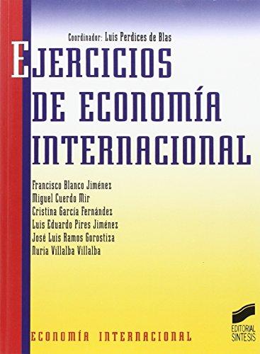 9788477383376: Ejercicios de economía internacional