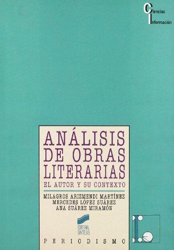 9788477384014: Analisis de Obras Literarias (Spanish Edition)