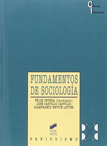 9788477384212: Fundamentos de Sociologia - Periodismo (Spanish Edition)