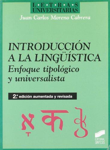 9788477384502: Introduccion a la Linguistica (Spanish Edition)