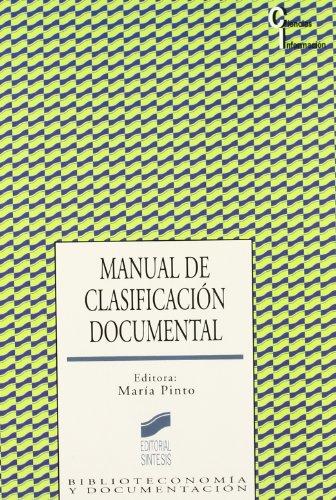 9788477385103: Manual de Clasificacion Documental
