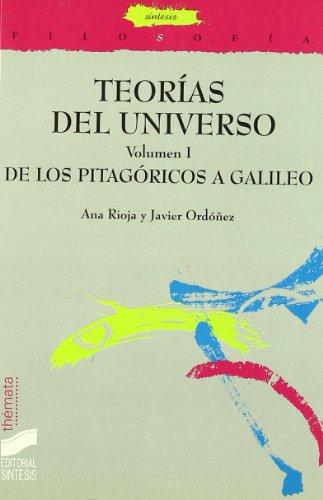 9788477386285: Teorías del universo: Vol.1 (Filosofía. Thémata)