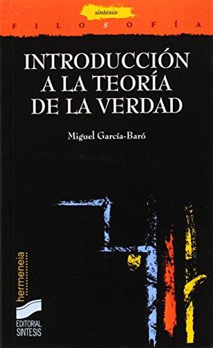 9788477386889: Introducción a la teoría de la verdad (Filosofía. Hermeneia)