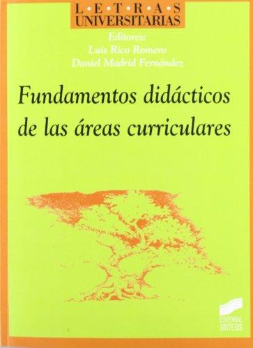 9788477387718: Fundamentos Didacticos de Las Areas Curriculares (Spanish Edition)