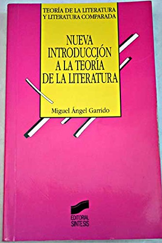 9788477387763: Nueva Introduccion a la Teoria Literaria (Spanish Edition)