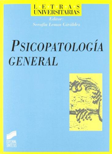 9788477387879: Psicopatología general (Letras universitarias)
