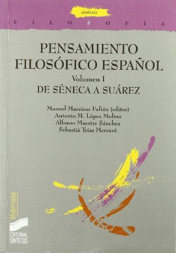 9788477389781: De Séneca a Suárez: 23 (Filosofía. Thémata)