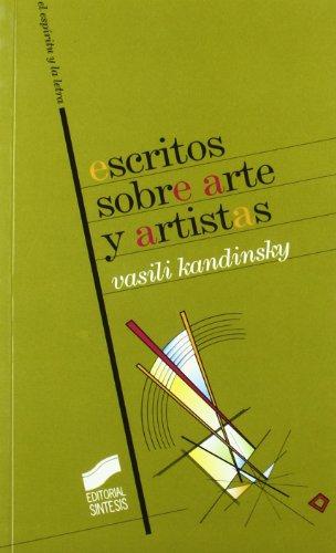 9788477389873: Escritos Sobre Artes y Artistas
