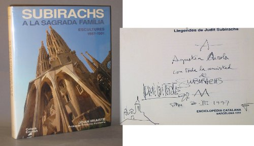 9788477392705: Subirachs a la Sagrada Familia: Escultures, 1987-1991 (Catalan Edition)
