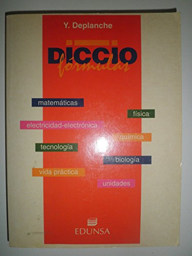 9788477471196: Diccio Formulas (Spanish Edition)