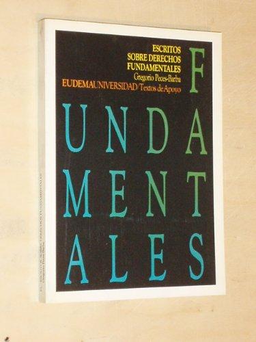 9788477540182: Escritos sobre derechos fundamentales (Eudema universidad) (Spanish Edition)