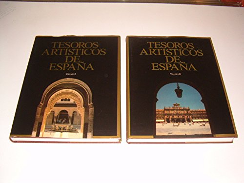 9788477585848: TESOROS ARTISTICOS DE ESPAÑA. 2 TOMOS