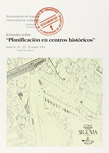 9788477623625: PLANIFICACION EN CENTROS HISTORICOS