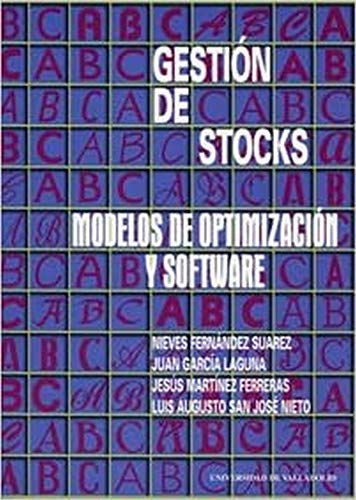 9788477629702: Gestión De Stocks : Modelos De Optimización Y Software