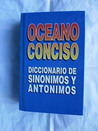Oceano Conciso Diccionario De Sinonimos Y Antonimos: Jorge Lluis Rovira