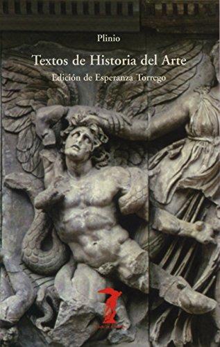 Textos de historia del arte: Plinio Segundo, Cayo