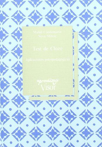 Test De Cloze: Mabel Condemarin, Neva