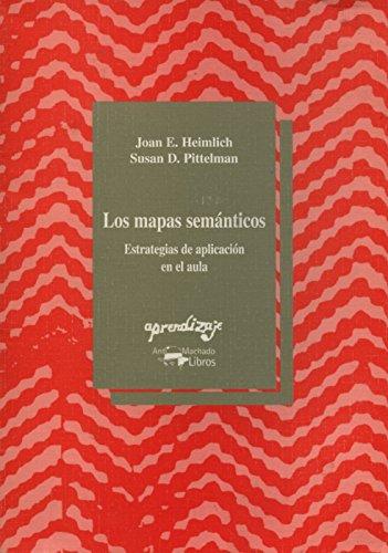 9788477740650: Los mapas semánticos : estrategias de aplicación en el aula