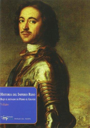 9788477742463: Historia Del Imperio Ruso