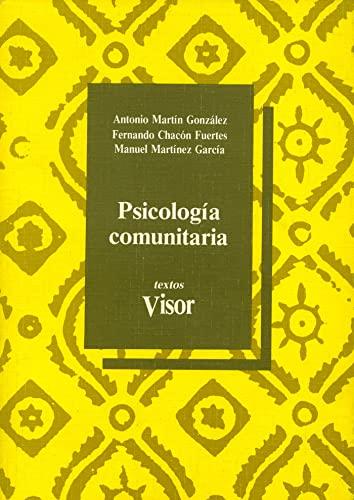 9788477745013: Psicología comunitaria