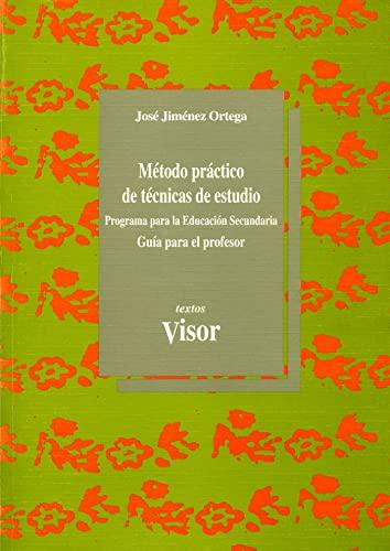 9788477745037: Metodo practico de tecnicas de estudio