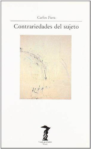 Contrariedades del sujeto (La balsa de la Medusa, Band 60)