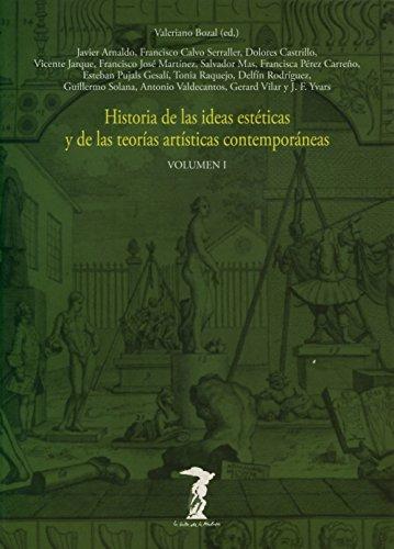 9788477745808: Historia De Las Ideas Estéticas Y De Las Teorías Artísticas Contemporáneas - Volumen 1 (La balsa de la Medusa)