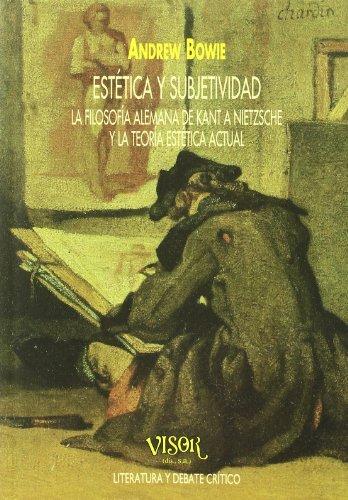 9788477747253: Estética y subjetividad