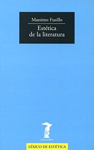 Estética de la literatura: MASSIMO FUSILLO