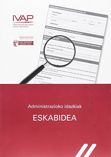 9788477774600: Administrazioko idazkiak. Eskabidea