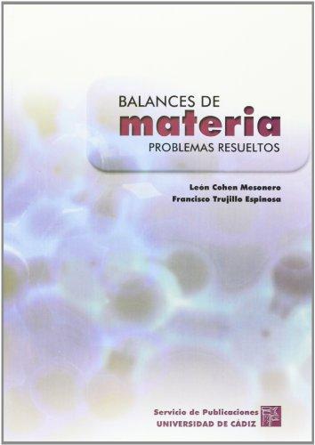 9788477866794: Balances de materia: problemas resueltos