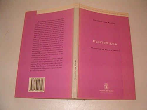 9788477947028: Pentesilea