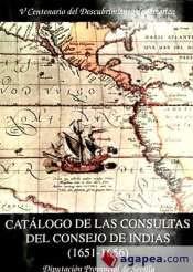 9788477980858: Catálogo de las consultas del Consejo de Indias : (1651-1656).(T.9)