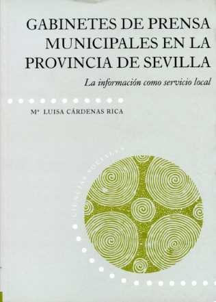 Gabinetes de prensa municipales en la provincia: Cárdenas Rica, María